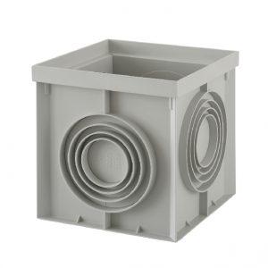 REGARD RÉHAUSSE AVEC FOND OPERCULÉ – 400 x 400 mm