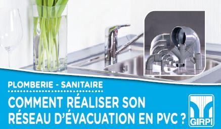 Comment realiser son reseau d'evacuation PVC