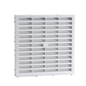 GRILLE CARRÉE SIMPLE – BLANC