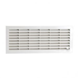 GRILLE HORIZONTALE SIMPLE – BLANC