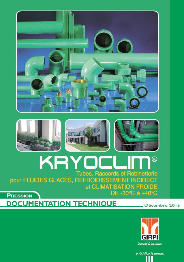 Documentation technique KRYOCLIM